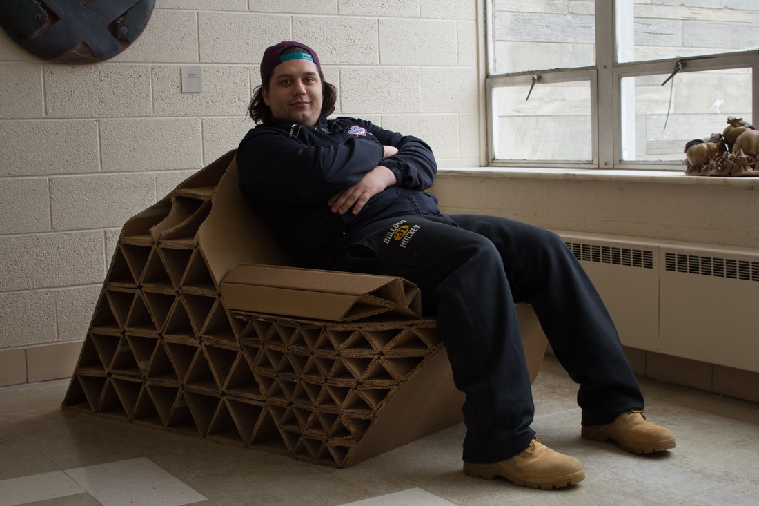 Comfortable cardboard chair designs - 0 Comments